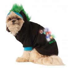 LED Halloween Mohawk Dog Hoodie