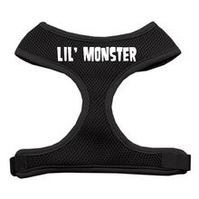 Lil' Monster Halloween Dog Harness - Black