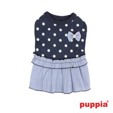 Lulu Dog Dress by Puppia - Navy