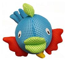 Lulubelles Blue Fish Dog Toy
