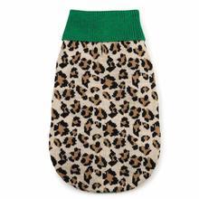 M. Isaac Mizrahi Luxe Leopard Dog Sweater