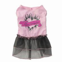 Maggie's Heartbreaker Dress - Light Pink/Black