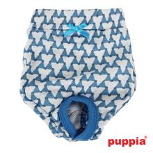Martina Dog Sanitary Panty by Puppia - Blue
