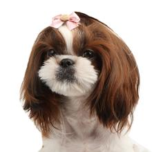 Mia Dog Bow by Pinkaholic - Pink