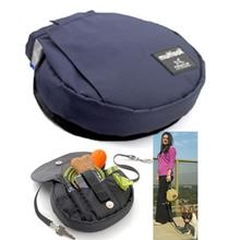 Multisak Dog Leash Accessory Bag - Navy