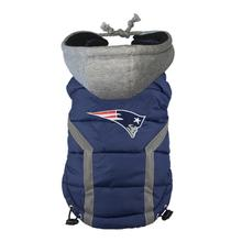 New England Patriots Dog Puffer Vest