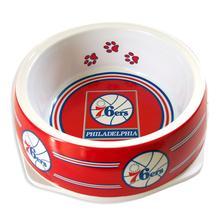 Philadelphia 76ers Plastic Dog Bowl