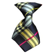 Plaid Dog Neck Tie - Mix