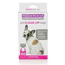 Pooch Pick-Up Dog Scented Poop Bags - Pink