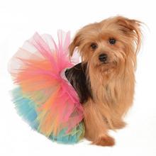 Rainbow Dog Tutu