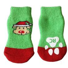 Santa Pooch PAWKS Dog Socks