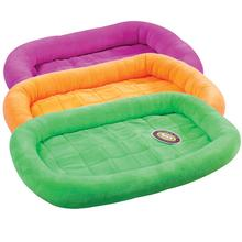 Slumber Pet Soft Terry Crate Bed - Lime
