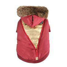 Soothing Dog Coat by Puppia - Wine