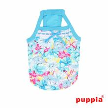 Spring Garden Dog Tank by Puppia - Sky Blue