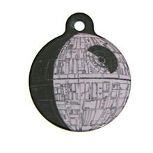 Star Wars QR Code Pet ID Tag - Death Star