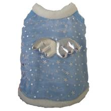 Sweet Angel Dog Coat - Blue