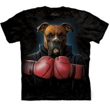 The Mountain Human T-Shirt - Boxer Rocky