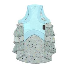 Twinkly Sleeveless Dog Dress by Puppia - Aqua