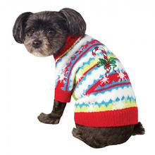 Ugly Christmas Dog Sweater - Cute Candy Cane