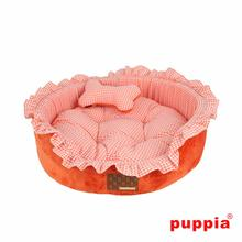 Vivien Dog Bed by Puppia - Orange