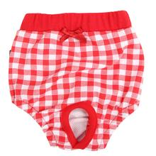 Witty Dog Sanitary Pants by Puppia - Red