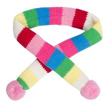 Worthy Dog Striped Dog Scarf - Pink
