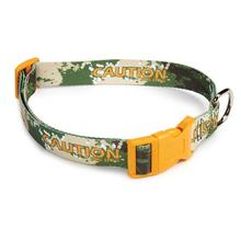 Splatter Charged Dog Collar - Green