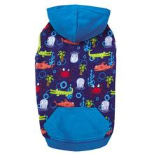Zack and Zoey Under The Sea Dog Pullover - Blue