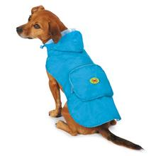 Zack and Zoey Under the Sea Stowaway Dog Jacket - Blue