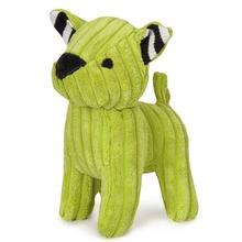 Zanies Corduroy Cuties Dog Toy - Green