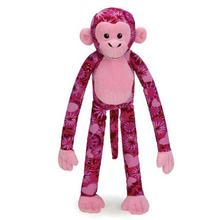 Zanies Cuddle Monkeys Dog Toy - Tie-dye