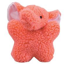 Zanies Cuddly Berber Babies - Pink Elephant