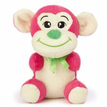 Zanies Honey Monkey Dog Toy - Pink