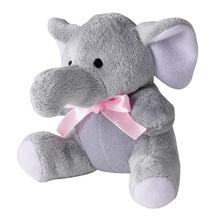 Zanies Itty Bitty Dog Toy - Teeny Elephant