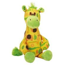 Zanies Jungle Bunch Buddy Dog Toy - Giraffe