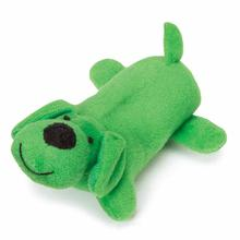 Zanies Neon Yelpers Dog Toy - Green