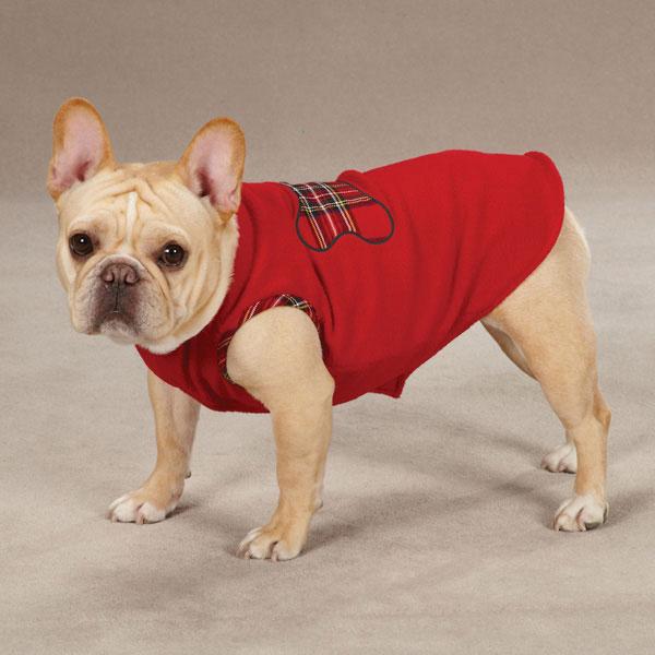 Dogs in Sweater Vests Dog Fleece Sweater Vest