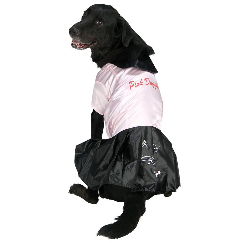 50's Pink Doggie Halloween Dog Costume