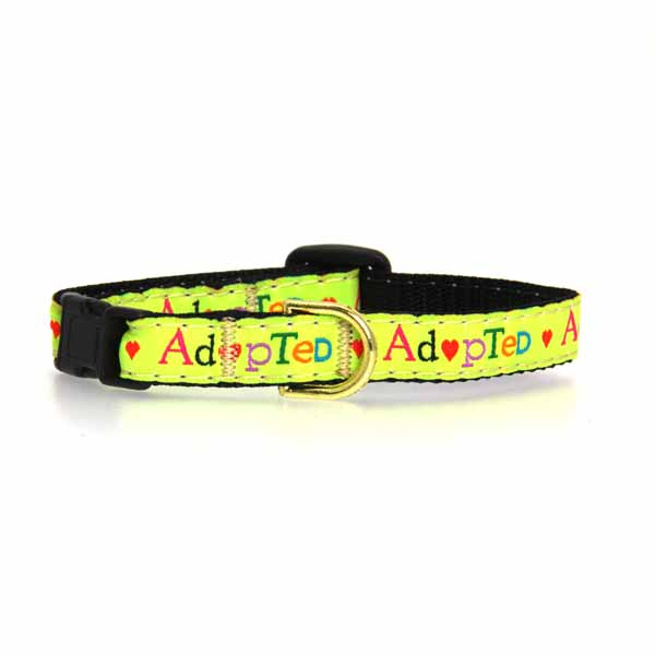 Adopted Cat Collar by Up Country