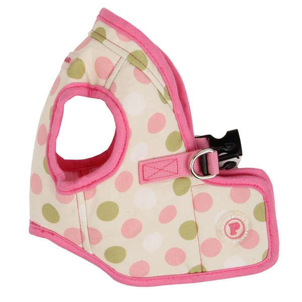 Affera Pinka Wrap Dog Harness by Pinkaholic - Ivory