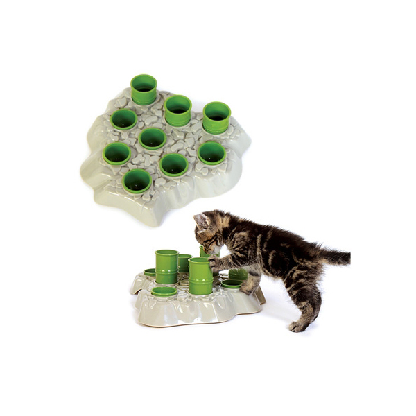 Aikiou Stimulo Interactive Cat Feeding Station