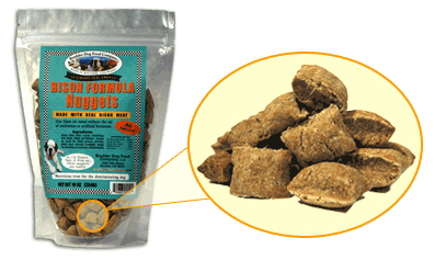 All Natural Bison Formula Nuggets Gourmet Dog Treats