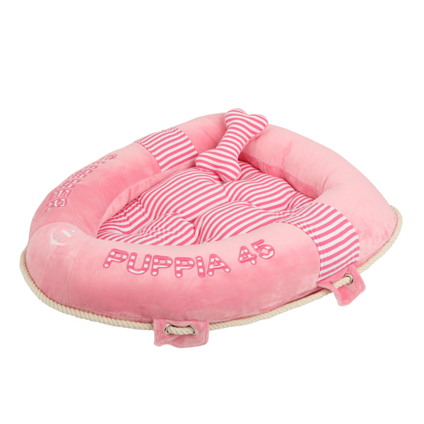 Alpha Dog Bed by Puppia - Pink