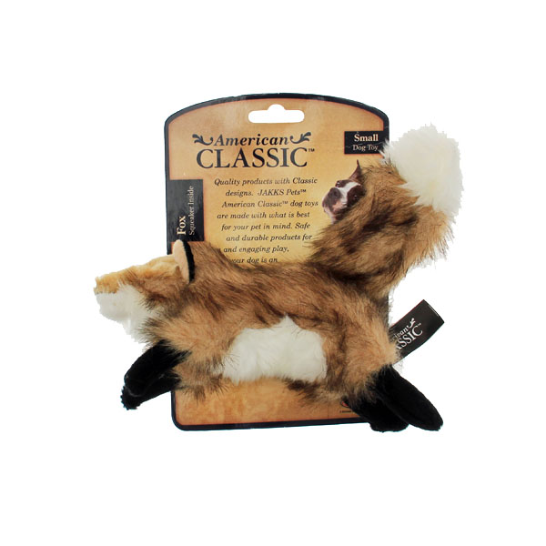 American Classic Dog Toys - Small Fox