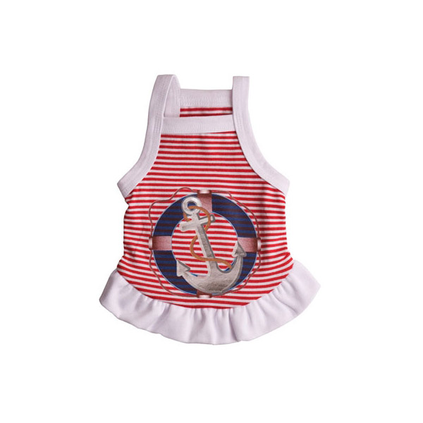 Anchors Away Dog Dress