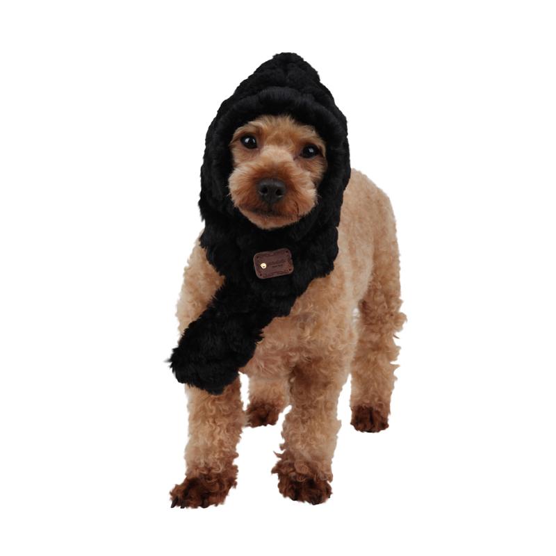 Arctic Dog Hat by Pinkaholic - Black