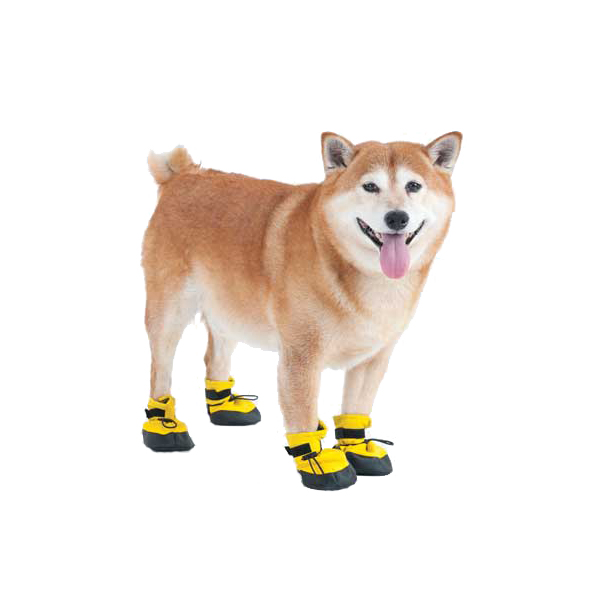 Arctic Winter-Proof Dog Boots - Yellow