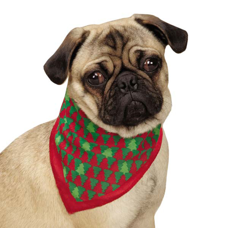 Aria Holiday Houndstooth Dog Bandana