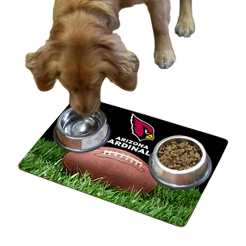 Arizona Cardinals Pet Bowl Mat