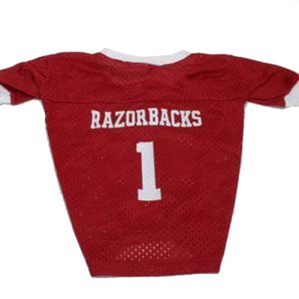 Arkansas Razorbacks Dog Jersey